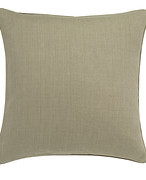 Linen Cushion Cover (51cmSq) - Natural