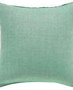 Linen Cushion Cover (51cmSq) - Turquoise